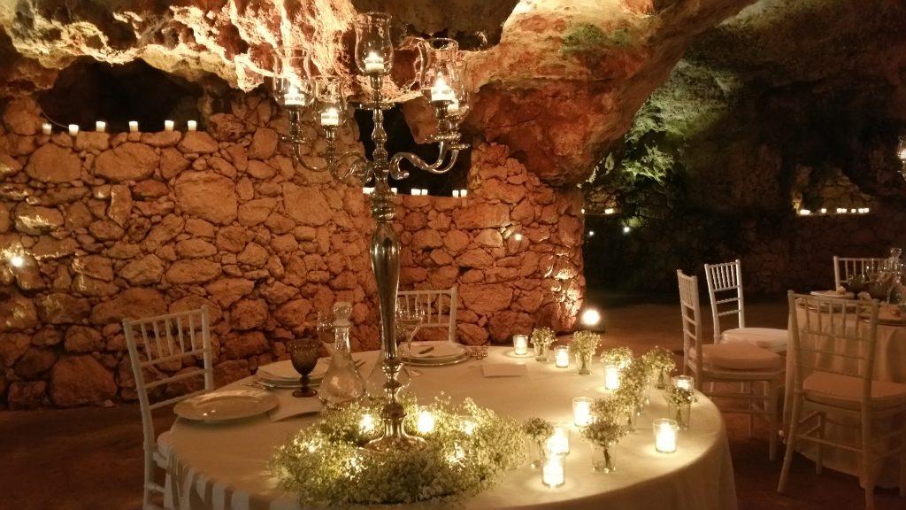 allestimento grotta infinito mare missione matrimonio